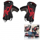Outdoor Cycling Breathable Anti-Shock Half Finger Glove - Black (Size XL)