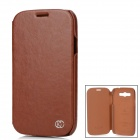 Kuchi Stylish Protective PU Leather Case for Samsung Galaxy Grand Duos i9082 - Brown