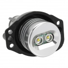 E90 10W 500lm Angel Eyes Faros de coches w / 2-Cree XR-E Q5 (8 ~ 30V / 2 PCS)