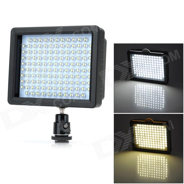 W126 Luz de video LED para cámara DSLR - negro