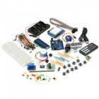 TJ UNO R3 Starter Learning Singlechip Set Kit - Multicolored - (Works with official Arduino Boards)