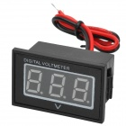 "Water Resistant 1.2 ""LED Digital Car Battery Voltmeter (DC 2.5 ~ 30V)"