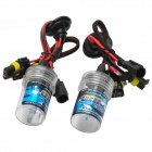H7 35W 2600lm 8000K Blue White Light Car Xenon HID Headlamp (2 PCS)