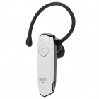 Gblue G9 Bluetooth V3.0 + EDR Earbud Earphone w/ Audio / Single-Wire Earphone - White - Black