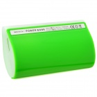 External 5600mAh Power Battery Charger w/ Flashlight for iPhone / iPad / iPod / Samsung - Green