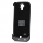 3300mAh Rechargeable External Power Battery Case for Samsung Galaxy S4 / i9500 - Black