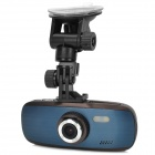 "GS108 2.0"" TFT FHD 1080p 3.0 MP 130 Degree Wide Angle Degree Car DVR w/ G-Sensor / TF / HDMI - Black"