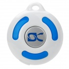 (VR) BL-1000 Intelligent Bluetooth Speaker Cell Phone Anti-Lost Anti-Theft Device - Blue + White