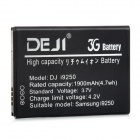 DEJI DJ- i9250 Replacement 1900mAh Li-ion Battery for Samsung i9250 - Black
