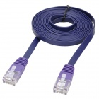 MILLONWELL 01.0360 CAT-6 RJ45 (8P8C) Male to Male Connection Flat Cable - Purple (2m)