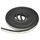 K-134 Car Soundproofing Shock-Proof Sealed Adhesive Strip - Black (3m)