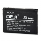 DEJI DJ-9800 Replacement 1250mAh Li-ion Battery for Blackberry 9800 / F-S1 - Black