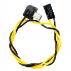 5.8G Transmitter FPV A/V Real-time Output Cable for Gopro Hero 3 - Black + Yellow (30cm)
