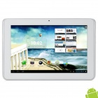 "Ampe A10-QM 10.1"" Capacitive Screen Android 4.1 Quad Core Tablet PC w/ SIM / GPS Navigator - White"