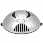 C218 Mini Car Powered Anion Air Freshener Purifier - Silver