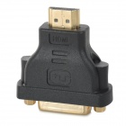 MILLIONWELL 01.0435 DVI 24+5 Female to HDMI Male Adapter - Black