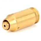 Cartridge Red Laser Bore Sighter for .45 Caliber Gun - Golden (3 x AG3)