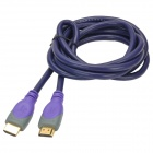 MILLONWELL 01.0129 High Speed 1080P HDMI 1.4 Male to Male Connection Cable - Purple (1.8m)