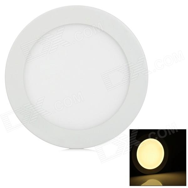 12W 340lm 3500K LED Warm White Light Round Ceiling Lamp - White (AC 90~265)