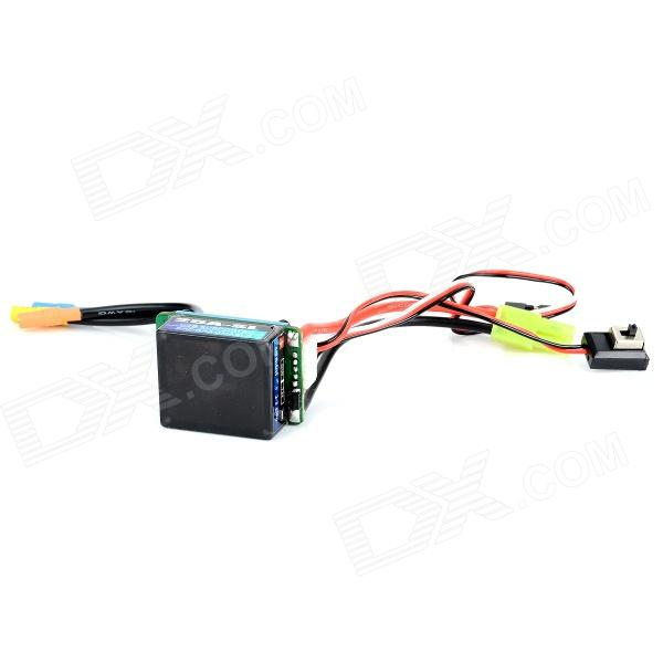 25A brushless ESC Electronic Speed Controller for 1/16 1/18 RC Car Boat Tank - Multicolored great hobbyking extreme short course short course brushless motor 120a 2s 4s esc speed controller for 1 8 1 10 suv car