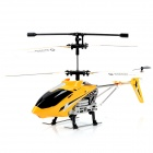 UD U807A 3.5-CH Iphone / Ipad / Ipod IR Remote Control R/C Helicopter w/ Gyro / 3-LED - Yellow