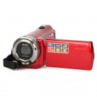 "HD-56E 2.7"" TFT 5.0MP CMOS Camcorder w/ 16X Digital Zoom / SD - Red"