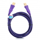 Millionwell 01.0017 Gold-plated OFC USB 2.0 AM to AM Connection Cable - Purple (1.8M)