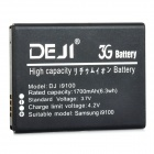 DEJI DJ-I9100 Replacement 1700mAh Li-ion Battery for Samsung i9100 / EB-F1A2GBU - Black