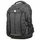 Oiwas OCB4115 Outdoor Travel Water Resistant Polyester Notebook Laptop Backpack Bag - Black (35L)