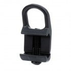 Small Steel Back Strap Buckle for M4 Airsoft - Black
