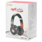 Syllable G08L-001 Hi-Fi Headphone for Iphone 4S / 5 / Laptop Compurter