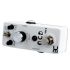 OCD DSO-2 Obsessive Compulsive Drive Guitar Effect Pedal - Black + White + Silver