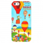 Colorful Hot Air Balloons Style Protective Plastic Back Case for Iphone 5 - Multicolor