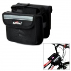 S39-22 Harden Case Bicycle Saddle Bag - Black