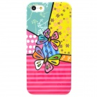 Two Butterflies Style Protective Plastic Back Case for Iphone 5 - Multicolor