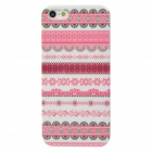 Floral Fabric Style Protective Plastic Back Case for Iphone 5 - Multicolor