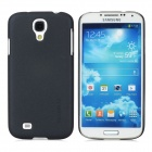 Baseus Ultra-thin Plastic Back Case w/ Screen Guard / Stylus for Samsung i9500 / i9508 - Black