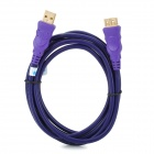 Millionwell 01.0016 USB 2.0 Female to Male Extending Cable - Purple (1.8m)
