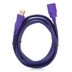 Millionwell 01.0019 USB 3.0 Male to Female Data Extender Cable - Purple (1.8m)