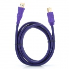 Millionwell 01.0021 Gold-plated USB 3.0 AM-BM Printer Cable - Purple  (1.8M)