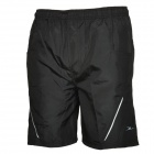 Mountainpeak Cycling Shorts Casual w / Set Ropa interior para hombres - negro (talla XL)