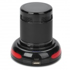 E301 2-in-1 Portable Mini Hands Free Bluetooth Speaker w/ Charging Cradle / TF Slot - Black