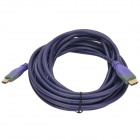 MILLONWELL 01.0442 High Speed 1080P HDMI 1.4 Male to Male Connection Cable - Purple (5m)