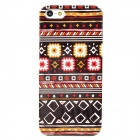 Folk Fabric Style Protective Plastic Back Case for Iphone 5 - Multicolor