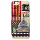 Retro White House Style Protective Plastic Back Case for Iphone 5 - Multicolor