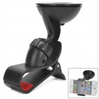 WF-319-1 Multi-Functional 360 Degree Rotational Car Mount Holder for Cell Phone / GPS - Black