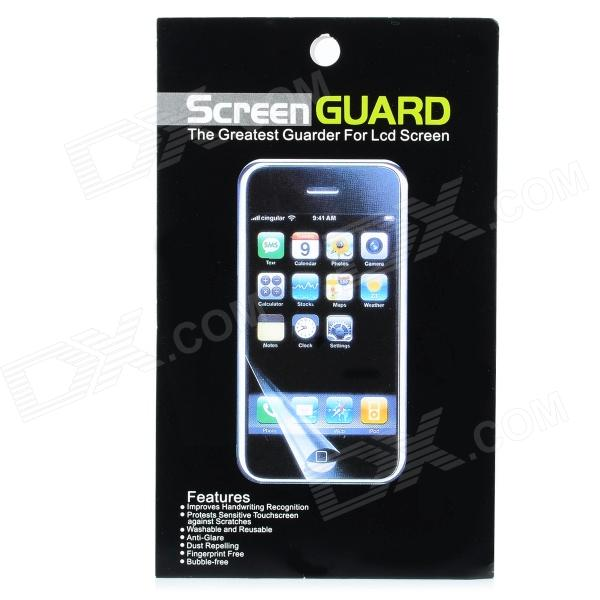 Protective Clear Screen Guard w/ Cleaning Cloth - White (2 PCS)