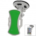 360 Degree Rotatable Car Holder w/ Suction Cup for GPS / Cellphone - Greyish White