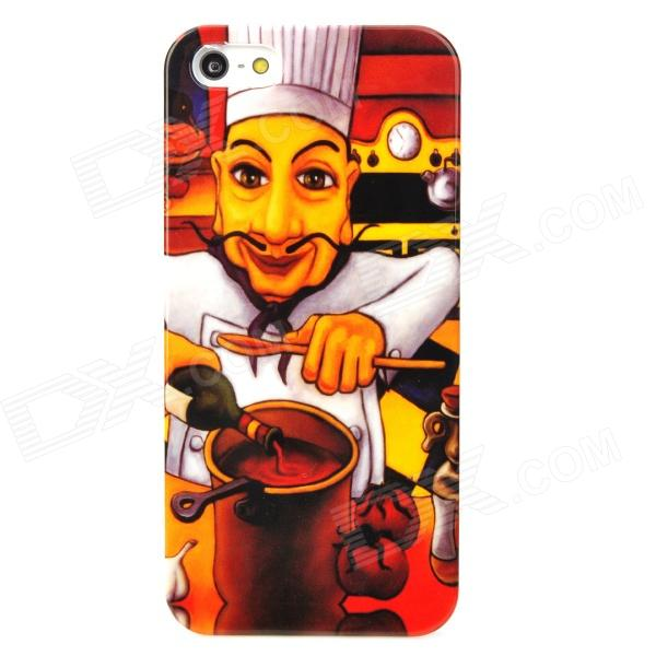все цены на Seasoning Chef Pattern Protective Plastic Back Case for Iphone 5 - Multicolor онлайн