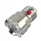 TQ-F101 USB Power 1W 190lm 6500K 1-OSRAM LED White Light Flashlight Head - Silver Black (3.7~6.0V)